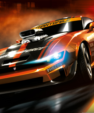 Ridge Racer Background for iPhone 6 Plus