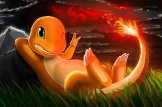 Картинка Charmander Pokemon для телефона и на рабочий стол