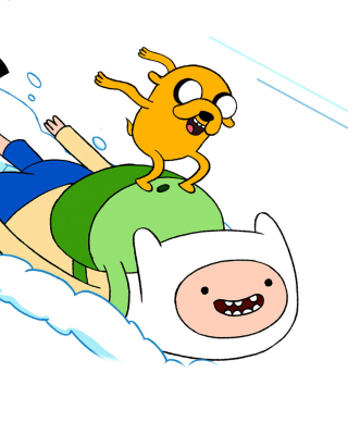 Adventure Time with Finn and Jake - Obrázkek zdarma pro 480x800