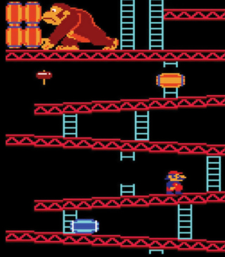 Donkey Kong Wallpaper for Nokia C1-01