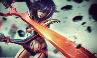 Ryuko Kill La Kill Background for 480x320