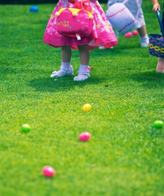 Free Easter Egg Hunt Picture for iPhone 6 Plus