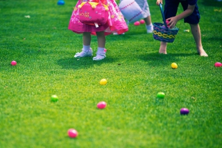 Easter Egg Hunt Background for Android, iPhone and iPad