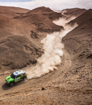 Mini Cooper Rally Wallpaper for Nokia C1-01