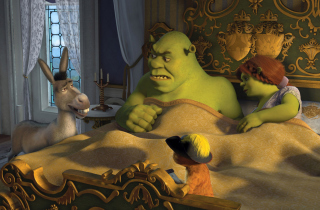 Cartoons Shrek 3 Wallpaper for Samsung Galaxy A3