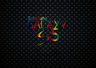 Colorful Galaxy S5 Background for Android, iPhone and iPad