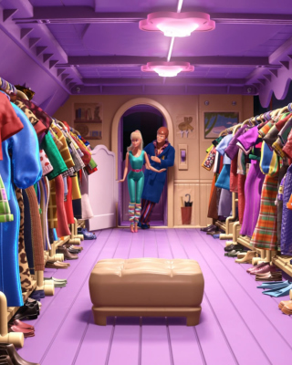 Toy Story 3 Barbie And Ken Scene sfondi gratuiti per iPhone 4S