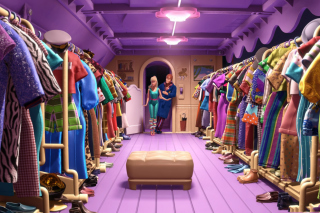 Toy Story 3 Barbie And Ken Scene Picture for Android, iPhone and iPad