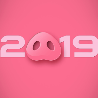 Prosperous New Year 2019 Wallpaper for iPad 3