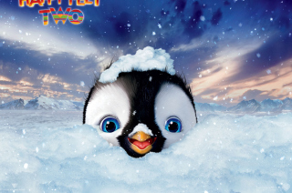 Happy Feet 2 Background for Android, iPhone and iPad