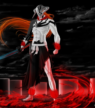 Free Ichigo Vasto Lorde Bleach Picture for Nokia Asha 300