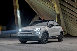 2019 Fiat 500X SUV Background for Samsung I9080 Galaxy Grand
