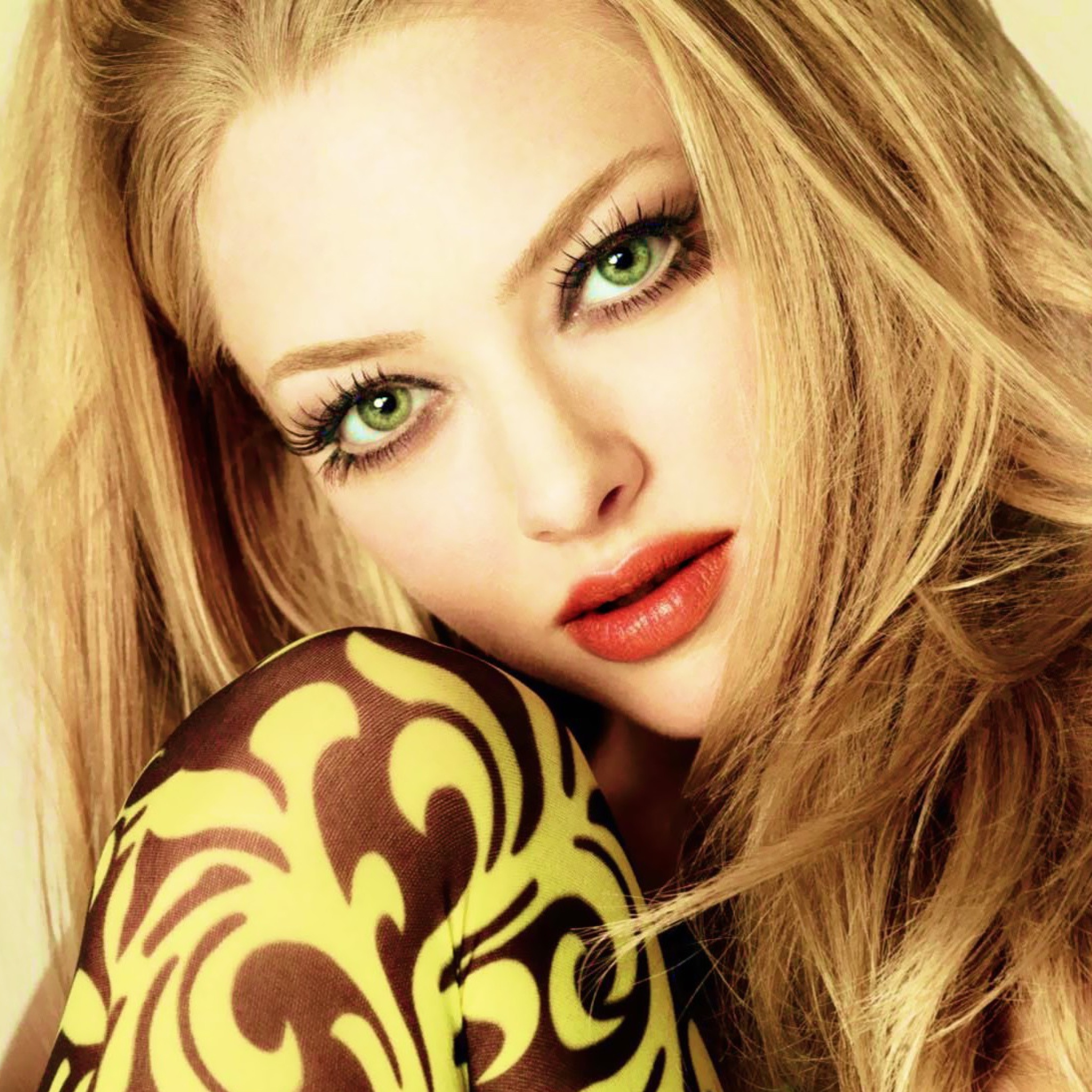 Screenshot №1 pro téma Amanda Seyfried Green Eyes 2048x2048