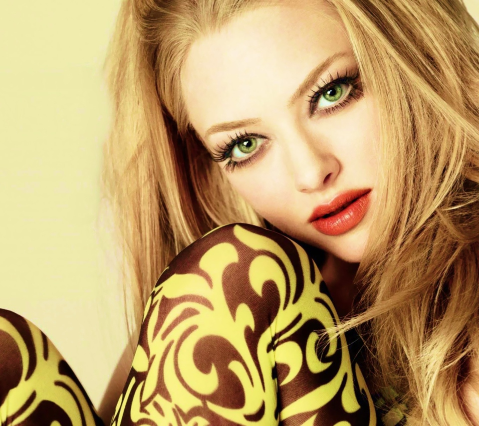 Screenshot №1 pro téma Amanda Seyfried Green Eyes 960x854