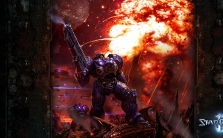 StarCraft II Background for Android, iPhone and iPad