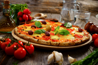 Homemade Pizza sfondi gratuiti per cellulari Android, iPhone, iPad e desktop