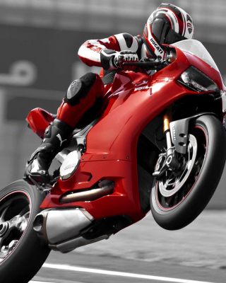 Ducati 1199 Superbike Background for Nokia C-5 5MP