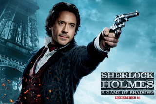 Robert Downey Jr In Sherlock Holmes 2 - Obrázkek zdarma pro Widescreen Desktop PC 1920x1080 Full HD