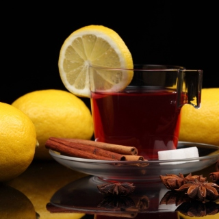 Tea with lemon and cinnamon Picture for LG KP105