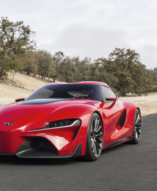 Toyota FT-1 Concept Background for Nokia C6