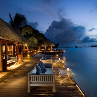 Free 5 Star Conrad Maldives Rangali Resort Picture for iPad mini 2