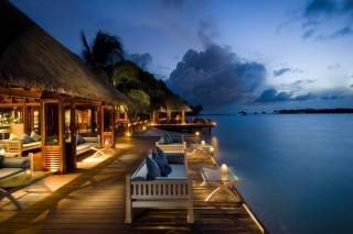 5 Star Conrad Maldives Rangali Resort Background for Android, iPhone and iPad