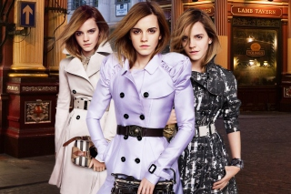 Emma Watson In Burberry Picture for Android, iPhone and iPad