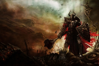 Diablo III Warrior sfondi gratuiti per cellulari Android, iPhone, iPad e desktop