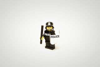 Police Lego Background for Android, iPhone and iPad