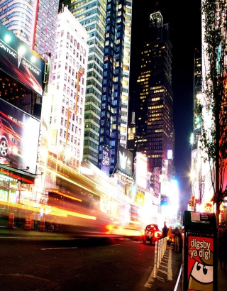 Manhattan New York City - Fondos de pantalla gratis para HTC Pure