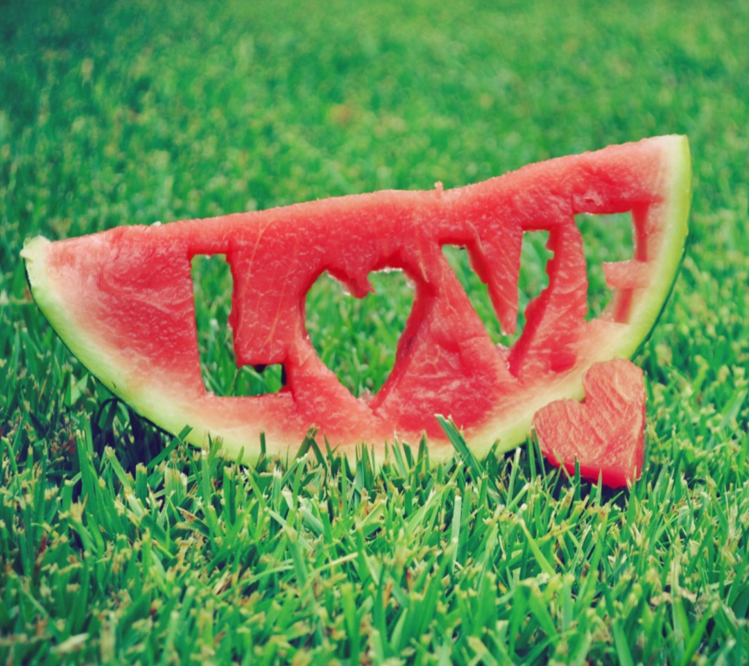 Screenshot №1 pro téma Love Watermelon 1080x960