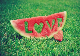 Love Watermelon Background for Android, iPhone and iPad