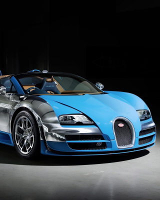 Free Bugatti Veyron Grand Sport Vitesse Roadster Picture for 240x400