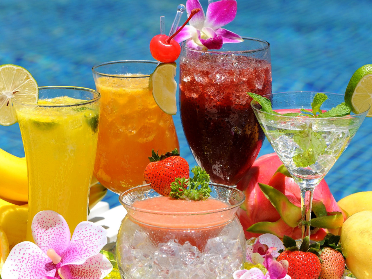Summer cocktails in hotel All Inclusive screenshot #1 1280x960