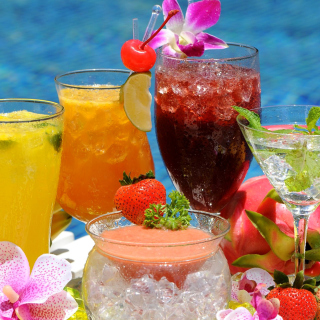 Summer cocktails in hotel All Inclusive - Fondos de pantalla gratis para iPad mini 2