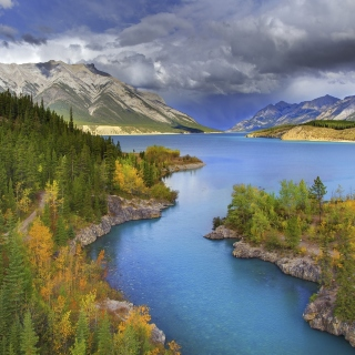 Banff National Park in Canada sfondi gratuiti per 1024x1024