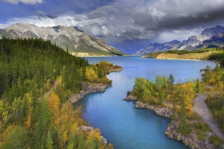 Banff National Park in Canada papel de parede para celular para Widescreen Desktop PC 1440x900