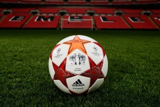 Soccer Ball Wallpaper for 1366x768