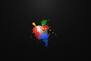 Apple Dark Wallpaper for Android, iPhone and iPad