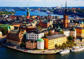 Stockholm - Sweden Background for Android, iPhone and iPad