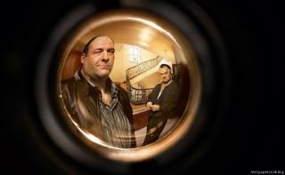 Tony - James Gandolfini Background for Android, iPhone and iPad