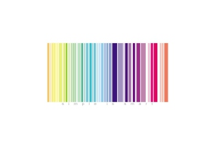Rainbow Bar Code Picture for Android, iPhone and iPad