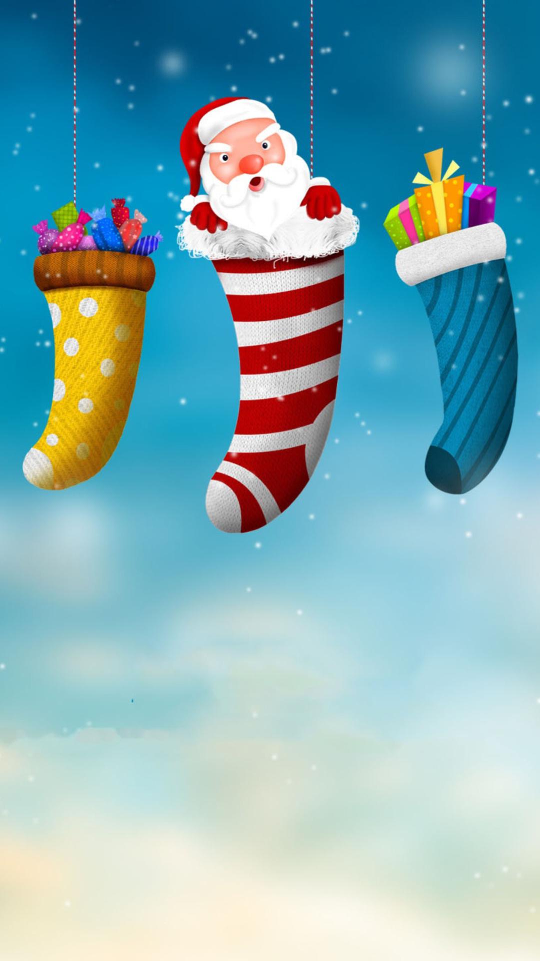 Веселые Новогодние Обои Для Айфона