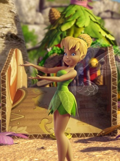 Screenshot №1 pro téma Tinker Bell And The Great Fairy Rescue 2 240x320