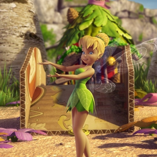 Tinker Bell And The Great Fairy Rescue 2 - Obrázkek zdarma pro iPad 2
