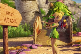 Tinker Bell And The Great Fairy Rescue 2 - Obrázkek zdarma pro Sony Xperia Z2 Tablet
