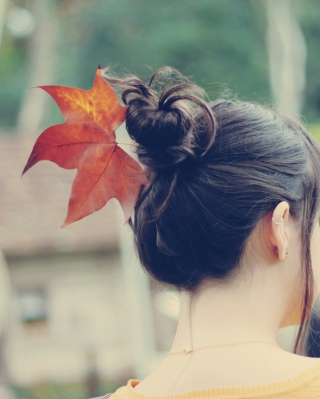 Autumn Hair Style papel de parede para celular para iPhone 6