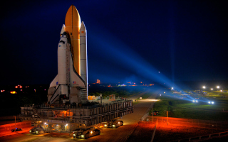 Space Shuttle Discovery Wallpaper for Android, iPhone and iPad