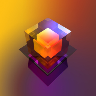 Colorful Cube sfondi gratuiti per iPad mini