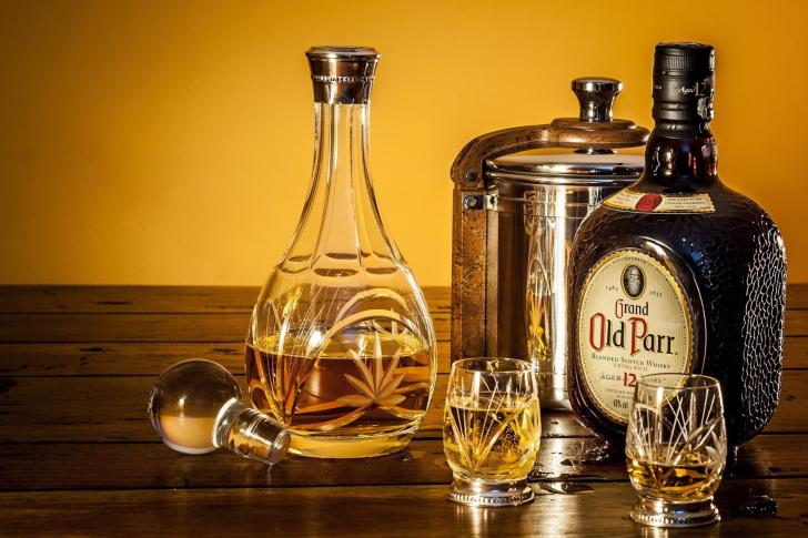 Grand Old Parr Blended Scotch Whisky wallpaper